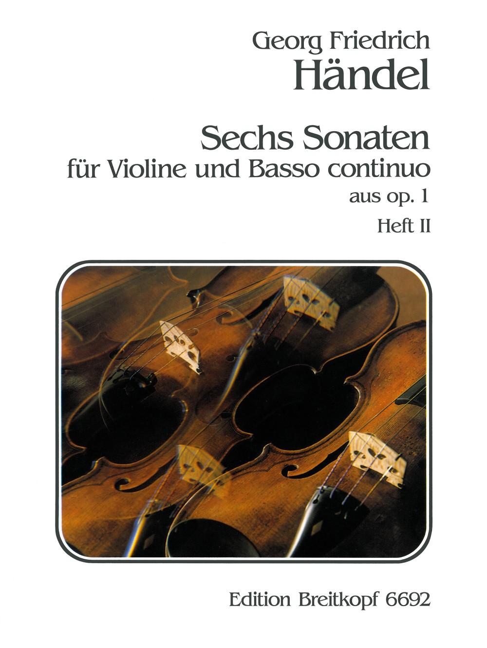 6 Sonatas Op. 1