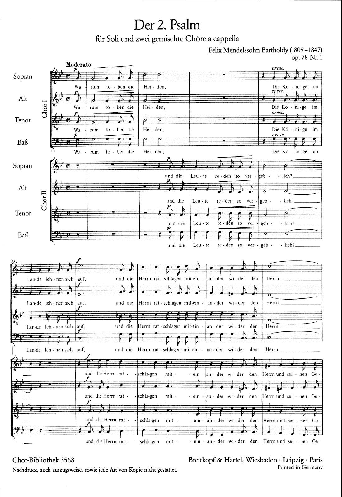 3 Psalms (Op. 78)