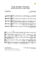 Sample pages of the choral score CHB 5257